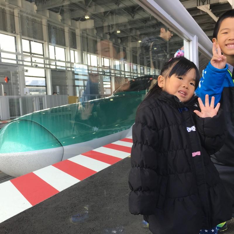 北海道新幹線開業!親子で肌で感じよう!
