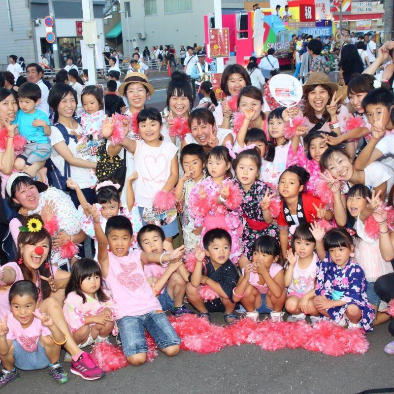 函館イカ踊り!盛り上がりました